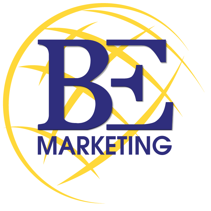 B.E Marketing logo